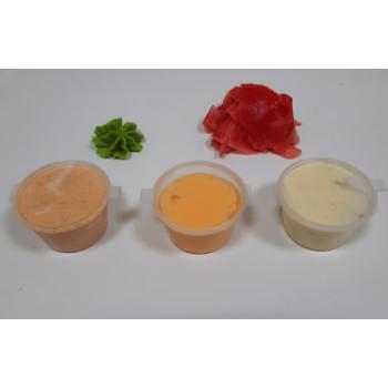 дополнительные соуса и добавки